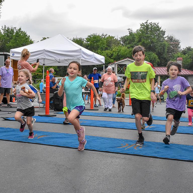 kids 5K run