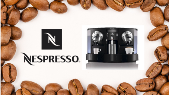 Espresso brought to you by Nespresso