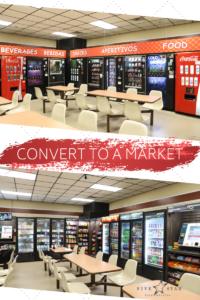 remove vending and add a market